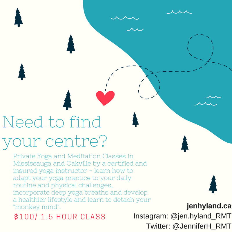 Need to find your centre_Private Yoga and Meditation Classes In Mississauga and Oakville.